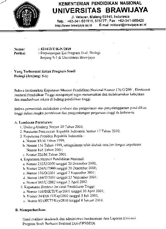 Surat ijin operasional 1