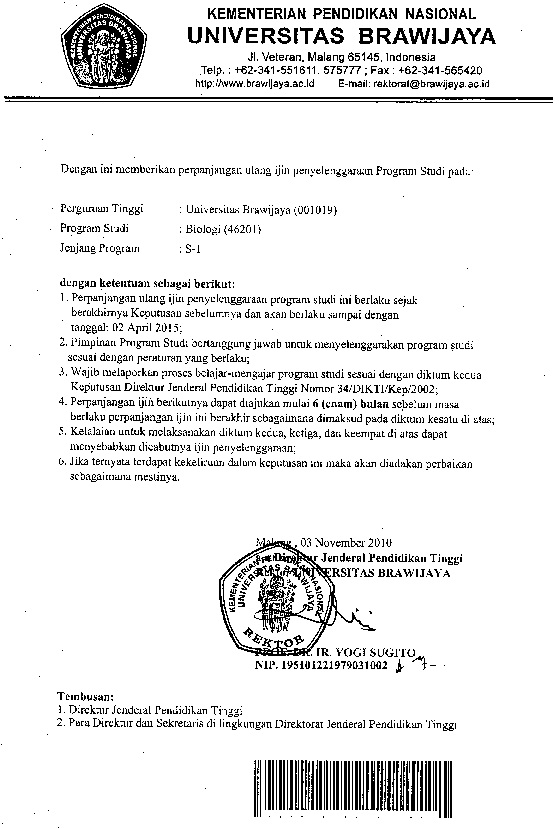 Surat ijin operasional 2